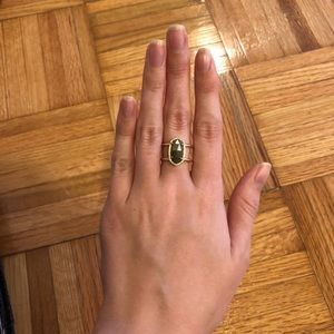 Elyse Ring - Size 6 Pyrite